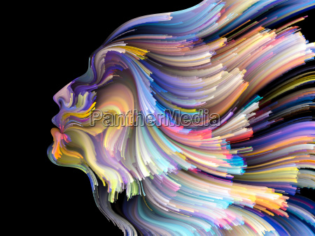 the flower of inner palette