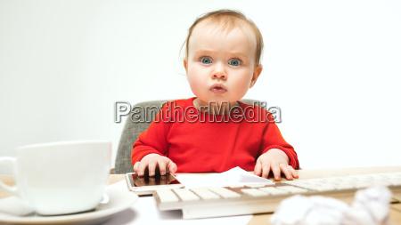 happy child baby girl toddler sitting
