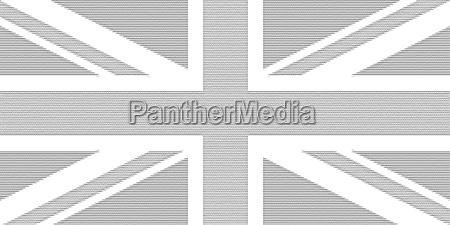 ascii kunstfahne des vereinigten koenigreichs uk