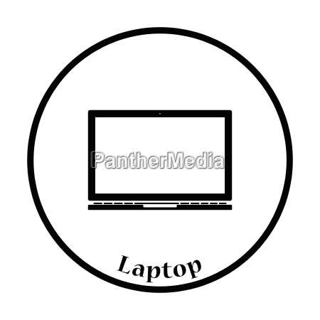 laptop icon vector illustration