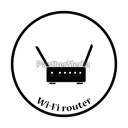 wi fi router icon vector illustration