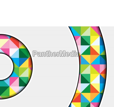 white background with colorful squares