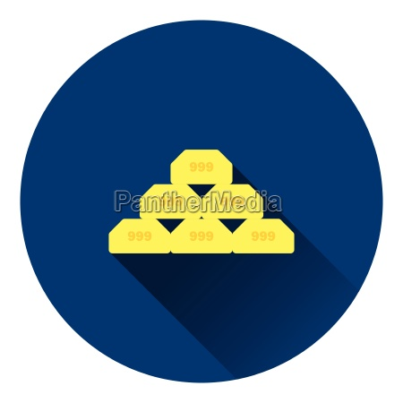 gold bullion icon