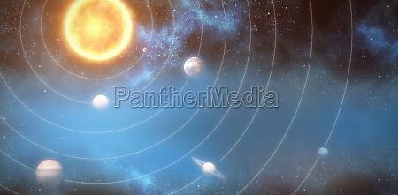 space grafik weltraum illustration form digital
