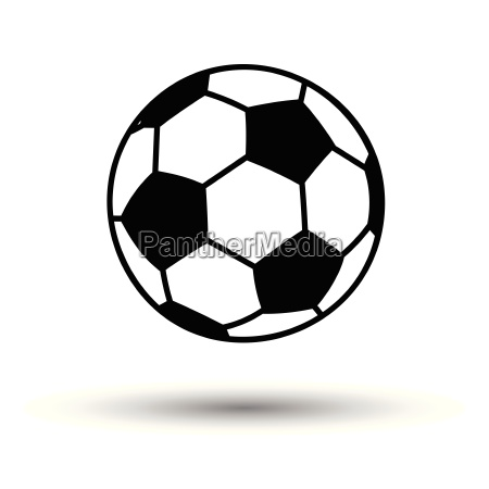 fussball ball ikone