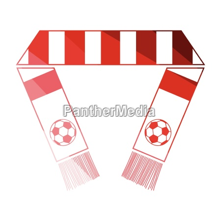 football fans scarf icon
