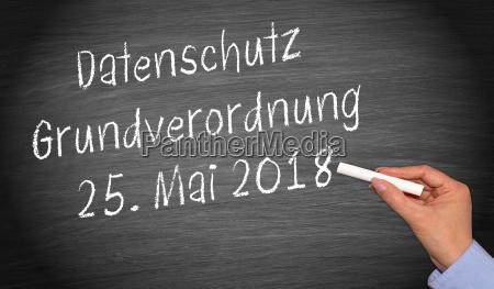 datenschutz grundverordnung 25 mai 2018 datenschutzgrundverordnung