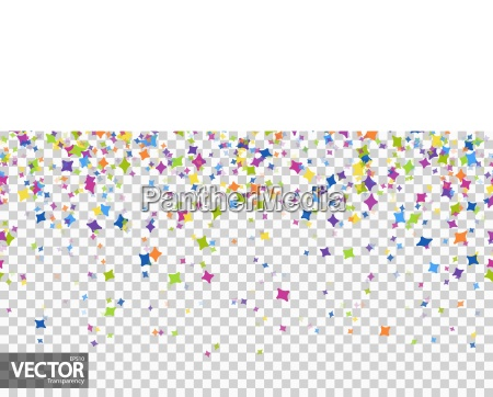 seamless confetti party background with vector