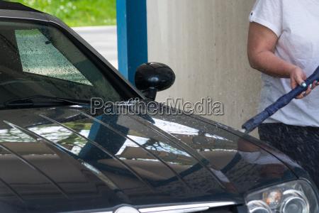 car wash close up car wash