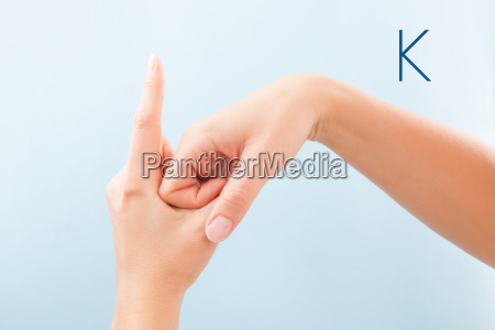 bsl fingerspelling alphabet k