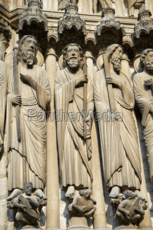 medieval gothic sculptures of the south