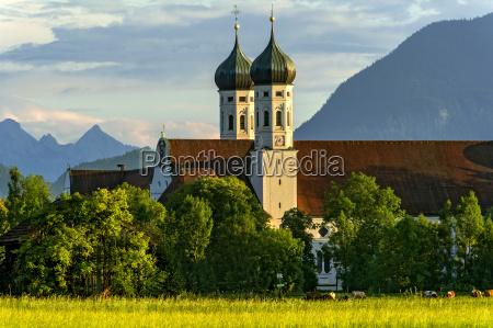 st benedicts basilica benedictine abbey benediktbeuern
