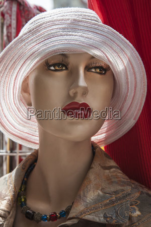 head of a fashion doll with