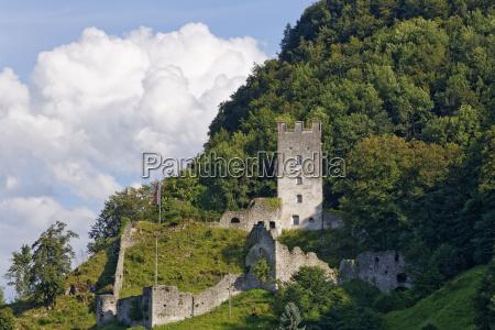 castle ruin falkenstein flintsbach am inn
