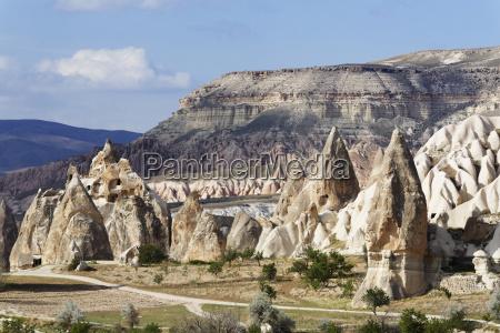tuffsteinformationen goereme nationalpark provinz nevsehir kappadokien