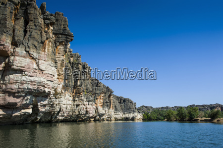 blue bucolic national park sights rock