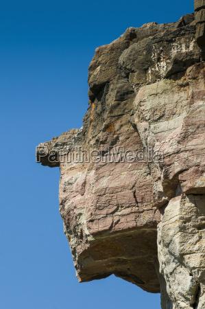 profile blue national park face sights