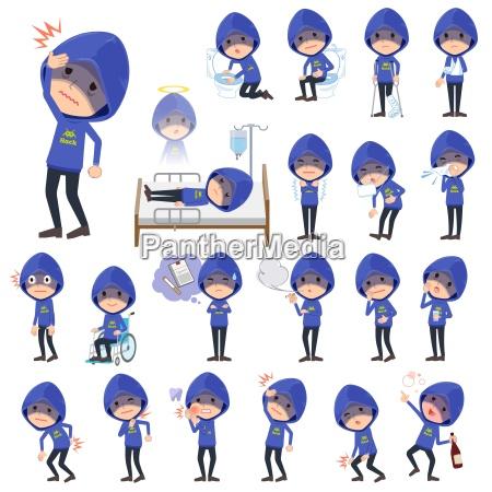 blauer parker hacker mensickness