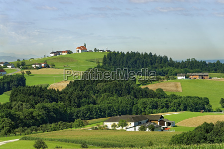 sanctuary church of st ottilia kollmitzberg