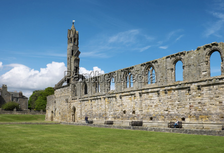 ruins of st andrews cathedral st