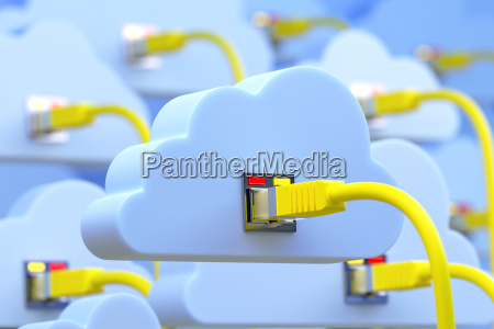 connected to the cloud