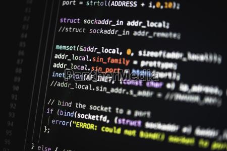 syntax quellcode code