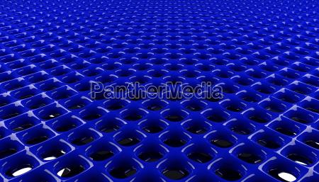 blue glossy grid background