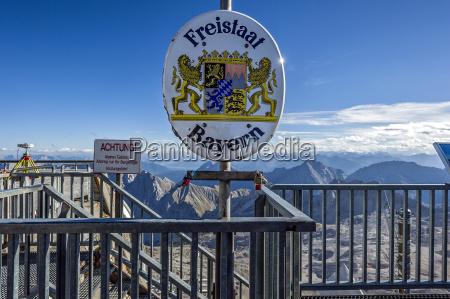 free state of bavaria border at