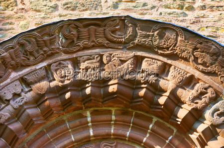 detail historical church closeup animal animals