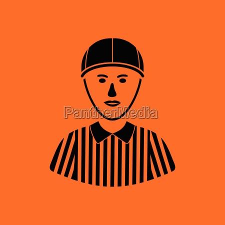 american football referee icon