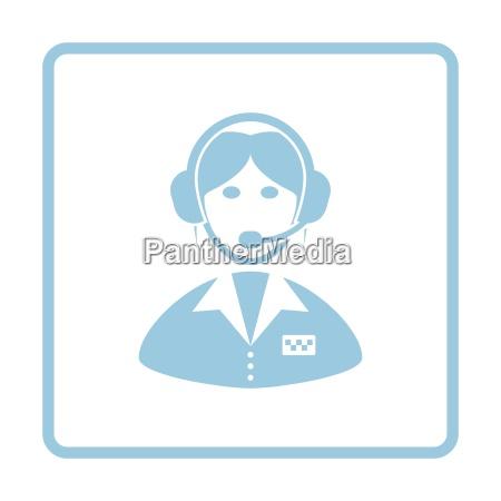 taxi dispatcher icon