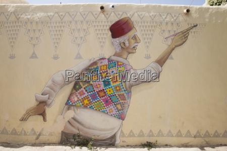 street art project djerbahood in erriadh