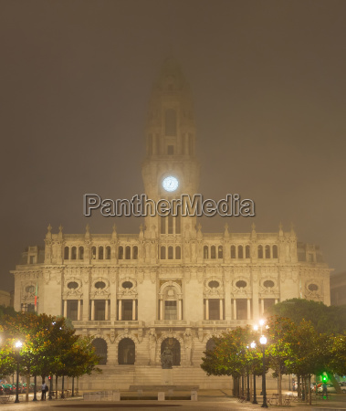 porto city hall portugal