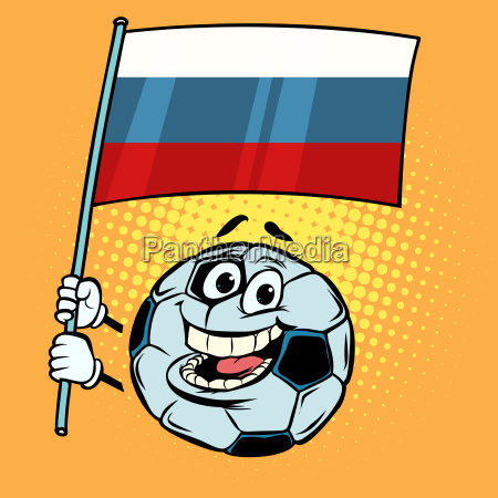 russia 2018 world cup country flag