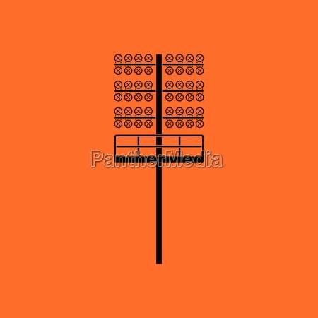 soccer light mast icon