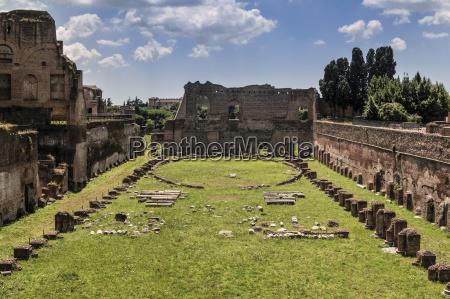 hippodrome of domitian rome italy