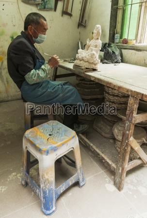 handwerker bei der arbeit xiamen fujian