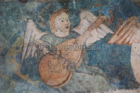 16th century frescos church of san
