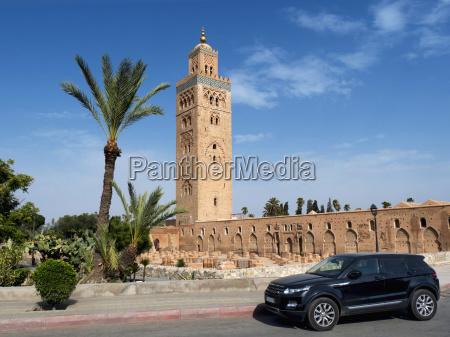 koutoubia mosque marrakech morocco