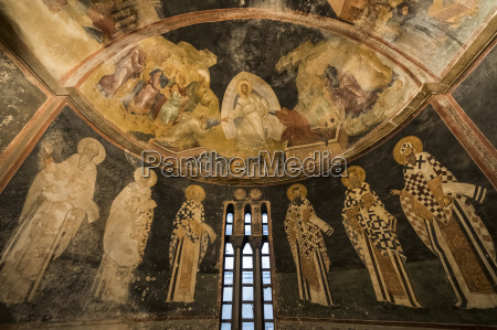 frescoes of the last judgment and