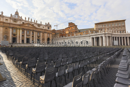 at st peters square in vatican