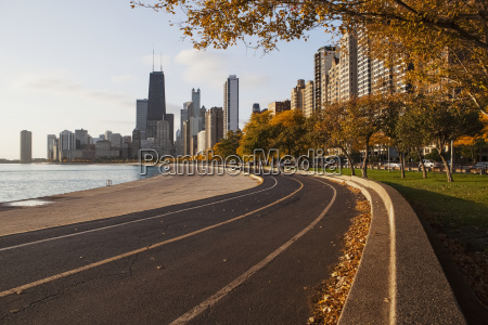 lakefront trail chicago illinois united states
