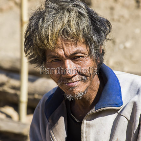 portrait of a thai man with