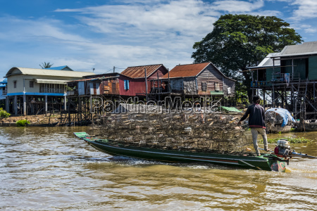 a man transporting goods in a
