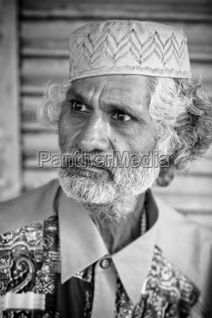 portraet des mature indian man lumen