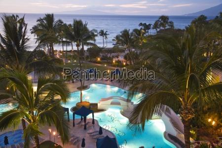 view from the fairmont kea lani