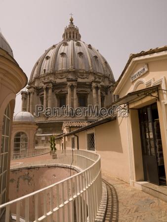 dome of saint peters basillica vatican