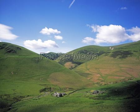 scotland landscape near moffat