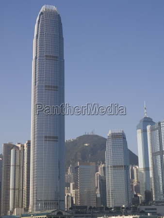 zwei international finance centre tower hongkong