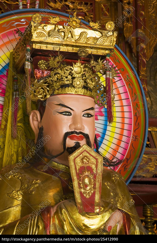 statue, im, tempel, im, tao, dan - 25412990